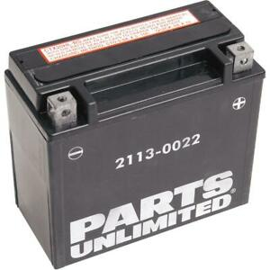 Parts Unlimited - CTX20HL-BS - AGM Maintenance-Free Battery, YTX20HL-BS
