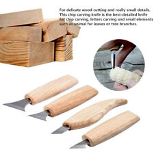 DIY Wood Carving Chisels Woodworking Engraving Knife Tool Nicking Cutter Set Au