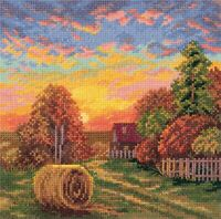 Counted Cross Stitch Embroidery Kit Autumn Dew Panna Manufacture