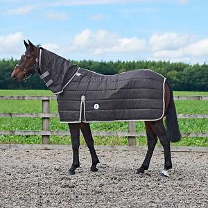 Derby House Elite 200g Combo Liner Horse Rug Under - Black Cool Grey All Sizes