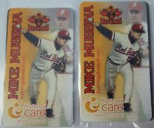 New listing Mike Mussina Rochester Red Wings Magnet Lot (2) Baltimore Orioles Stanford HOF