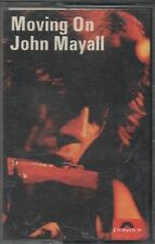 JOHN MAYALL CASSETTE 1972 MOVING ON - EXCELLENT ORIGINAL CONDITION blues