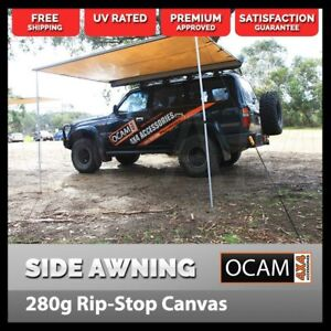 Awning 3.0M x 3.0M Car Side Pullout Tent Camper Trailer 4X4 4WD 300cm x 300cm