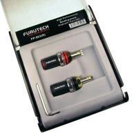 Furutech FP-803(R) SET 2 Stück High End Polklemme Rhodium Binding posts 854516