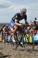 TOM BOONEN TEAM ETIXX QUICK-STEP TOUR OF FLANDERS 2016 POSTER