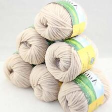 Sale DIY 6 Ballsx50g Quick Hand Knitting Wool Silk Yarn Warm Wrap Shawl Scarf 26