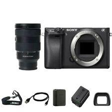 Sony A6300 Digital SLR Camera Body with 24-70mm f/2.8 GM lens