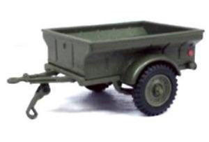Cararama DIV. 1/4 Ton USA Military Trailer 1944 1:43 Scale Die Cast Model T48