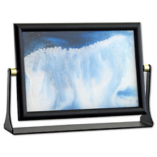 Blue Moving Sand Picture Frame Drifting Sandscapes Motion Art Decor Gift Decor