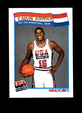 1991-92 Hoops #578 Team USA Vintage Insert Magic Johnson NM-MT/MINT Basketball
