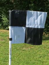 Set of four OTTOPT collapsible corner flags with posts, spike & carry bag