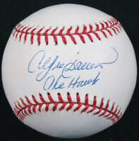 Andre Dawson The Hawk Autographed Signed Official MLB Baseball Cubs Expos