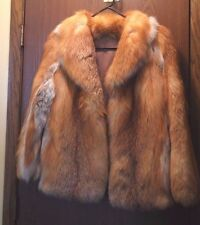Estate Red Fox Short Stroller Jacket Size Small to Medium  5/31*0000  ++