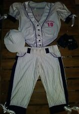 Sexy Pitcher Baseball Player Costume Size Small/Medium by Forplay Perfect 10