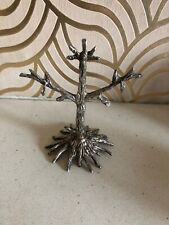 Pretty Vintage Silver Plated Earring Tree