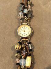 Multi-strand Becora Watch bracelet Handmade Chalcedony Jasper Stars Crystal bead