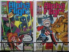 """ALPHA FLIGHT (1983-1990) 102-103 """"""""El Equipo Primero"""""""""""
