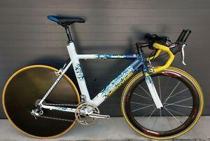 Cannondale TT Rennrad Ironman Slice RH 62cm Triathlon Trek TT Shiv Zeitfahrrad