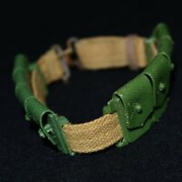 Action Man VAM Palitoy 1st Issue Belt With Adjuster & Green Ammo Pouches