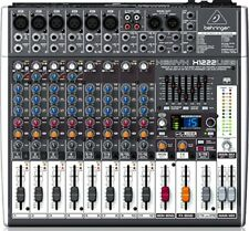 Behringer XENYX X1222 USB 16 ingresso 2/2 MIXER + 24-Bit processore Multi-FX + USB
