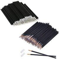 50pcs Disposable Eye Liner Lash Eyeliner Wand Applicator Makeup Brush