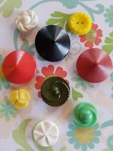 Collectible Vintage Colt Plastic Buttons