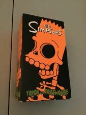 The Simpsons Trick or Treehouse Box Set (VHS, 2000, 3-Tape Set) SHIPS FREE