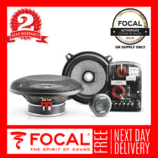 "Focal Access 130AS 5.25"" 13cm Component 2-Way Speaker 2 Year Warranty"