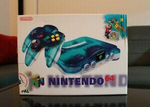 Nintendo 64 Console & Mario 64 Sealed Collectors Item