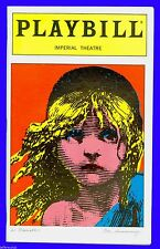 Playbill + Les Miserables + 10th Anniversary + Alicia Morton , Robert Marien