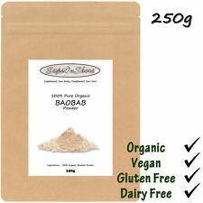 100% Pure Organic Premium Baobab Powder - 250g