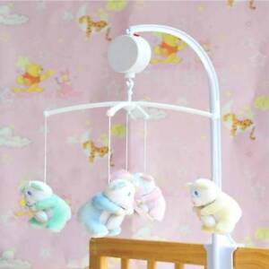 35 Song Rotary Baby Mobile Crib Bed Toy Clockwork Movement Music Newborn Bell N