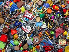 50 Zubehör Teile für Playmobil Figuren Waffen City Sammlung Konvolut