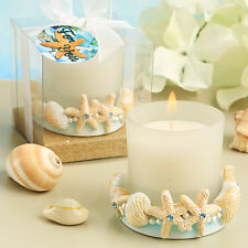 34 Life's A Beach Candle Holders Beach Ocean Theme Bridal Shower Wedding Favors