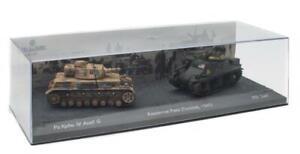 World of Tanks Pz.Kpfw.IV Ausf.G Vs M3 Lee Kasserine Pass 1943 1:72 Scale LV05