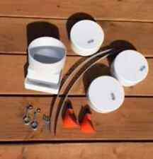 DIY All-in-One Feeder Water System Kit easy chicken Tubes Poultry Feed any size