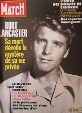 PARIS MATCH de 1994 BURT LANCASTER TARANTINO ATTENTAT TEL AVIV ENFANTS BANGKOK