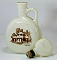 Old Fitzgerald Flagship Decanter 1849 Thomas Jefferson's Monticello - Empty