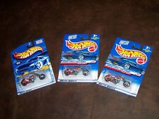 HOT WHEELS - 2000 FIRST EDITIONS - BLAST LANE - (VHTF)  - 3 PIECE LOT - NEW