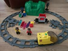 Complete Lego Duplo Explore 3334 & 3335 Battery Intelli Train System Tunnel set