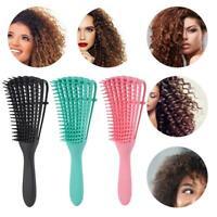 Detangling Brush Hair Combing Brush Detangle With Wet/Dry Curly Natural Hair