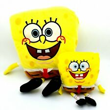 Spongebob Squarepants Plush Doll Figures Collectible Toy Bundle 15 And 7 Inches