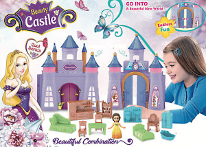Girls Fairytale Dreams Princess Castle Kids Toy Gift Playset With Accessories