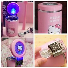 Cute Hello Kitty Car Cigarette Ashtray with Luminous LED Night Ashtray Pink Gift