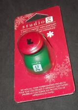 Studio G Scrapbooking Mini Paper Punch Christmas Themed Stocking New!