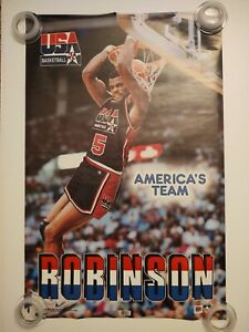 David Robinson Team USA Olympics (1992) 22x34 SS Poster