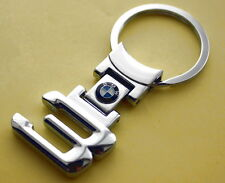 KEY CHAIN Ring KEYCHAIN BMW 320i 325i 330i 323i 335i CHROME NEW SPORT M Power