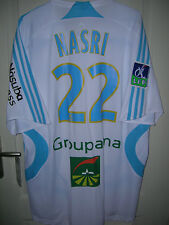 Maillot foot OM Olympique de Marseille Nasri rare neuf adidas taille L!