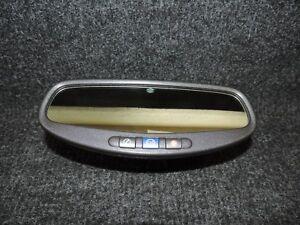 2010-2012 CHEVROLET CAMARO SS REAR VIEW MIRROR ONSTAR AUTO DIM PHONE CONNECT