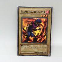 Yugioh Flame Manipulator LOB-016 Unl. Edition Common